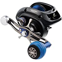 "Daiwa LEXA-WN300HS-P Lexa Type WN Casting Reel, 300, 7.1: Gear Ratio, 32.40"" Retrieve Rate, 22 lb Max Drag, Right Hand, Clam"