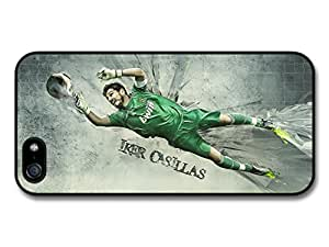 Iker Casillas Real Madrid CF Football case for iPhone 5 5S A161
