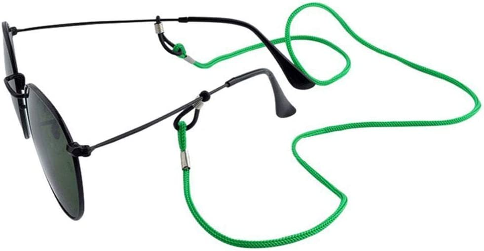 Xianshiyan Cadena de metal para gafas Blanco