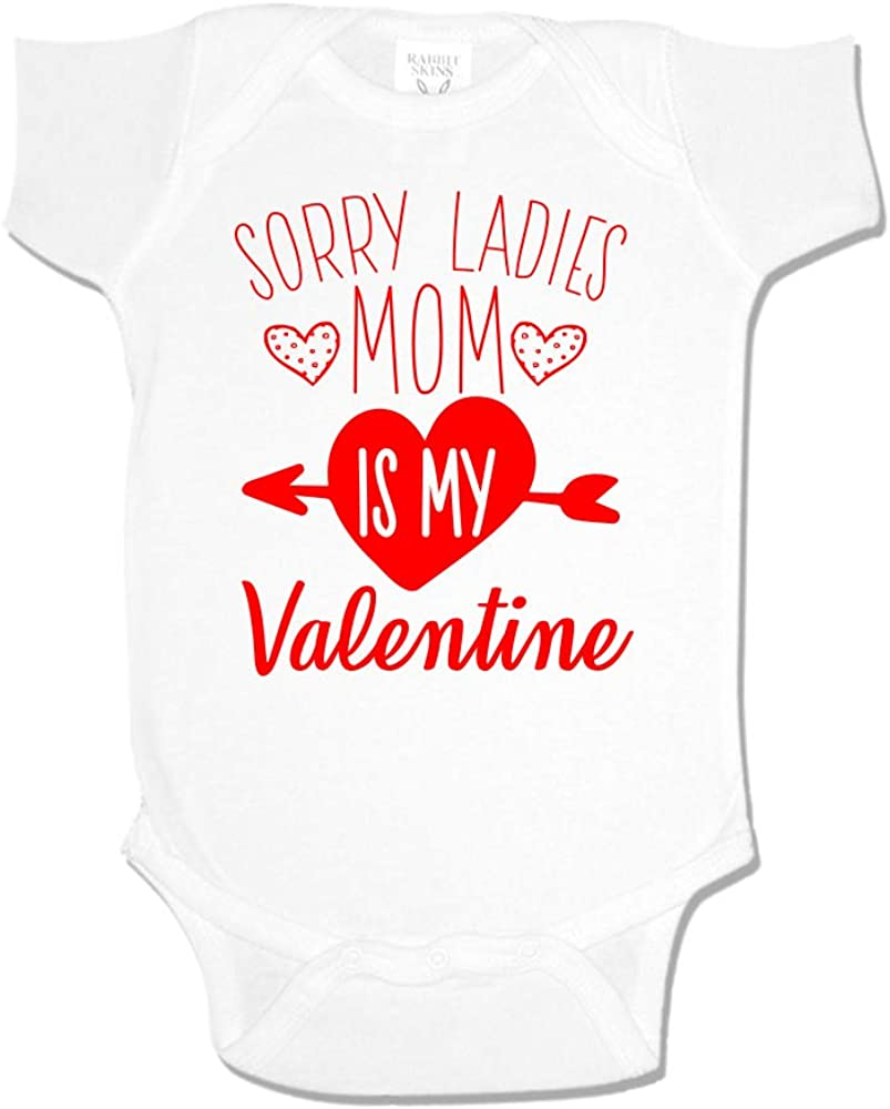 Sorry Ladies Mom Is My Valentine Baby One Piece or Toddler T-Shirt
