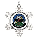 Huky Best Friend Snowflake Ornaments VQ-1 patch