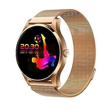 Lemumu K88H Pulsera inteligente/Smart Watch/recordatorio de mensaje impermeable Smar twatch Monitor de