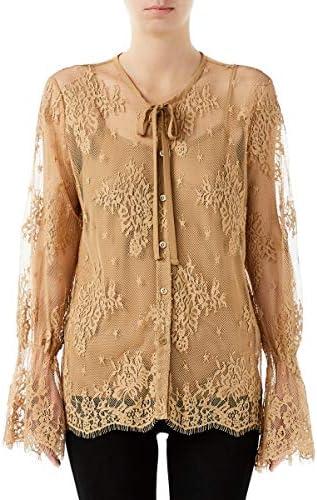Liu Jo Jeans - Camisa para mujer, color arena WA0010 J5924 ...
