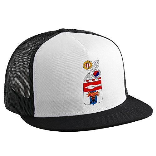 ExpressItBest Trucker Hat with U.S. Army 125th Signal Battalion, coat of arms by ExpressItBest