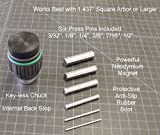 """Arbor Press Magnetic Pin Press 1/2"""" Chuck Tool, APMT0.5"""