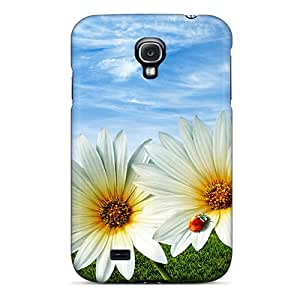 Galaxy S4 HyNjnWe919dlOMk Flowers Tpu Silicone Gel Case Cover. Fits Galaxy S4