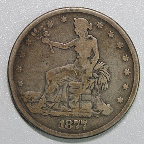 1877 P Trade Dollar $1 Good