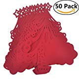 OWIKAR 50 Pcs Christmas Tree W