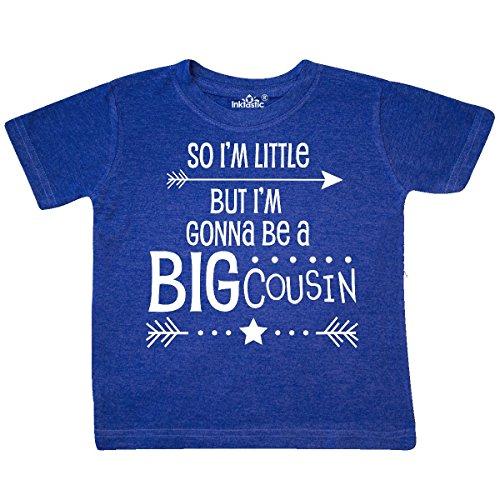 inktastic So Im Little, But Im Toddler T-Shirt 2T Retro Heather Royal 2ef29 (Toddler Retro Tees)