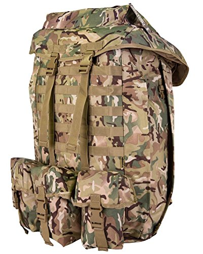 British Army US Combat Travel Rucksack UTP Pack Molle 100 L Bag Bergan All Terrain Camo