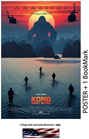 Amazon Com Kong Skull Island 2017 Movie Poster Size 24 X 36 Photo Paper Thick 8 Mil Posters Prints