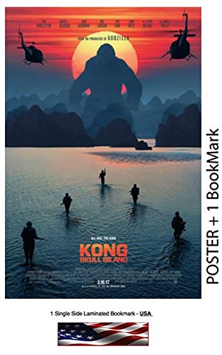 Kong Skull Island 2017 - Movie Poster, Photo Paper - Thick, 8 mil