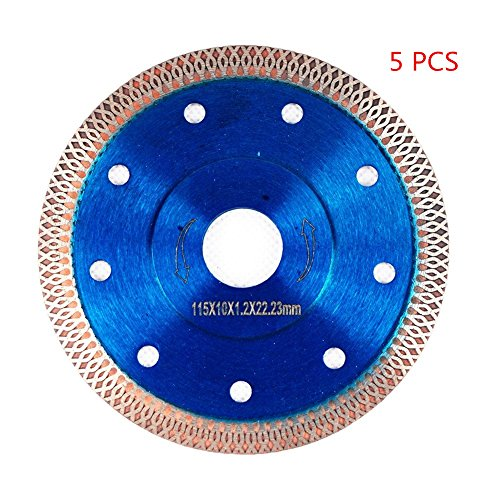 Iron Diamond Blade - GoYonder 4.5 Inch Super Thin Diamond Saw Blade for Cutting Porcelain Tiles,Granite Marble Ceramics (4.5