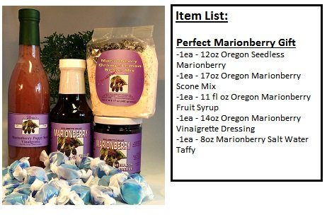 Perfect Marionberry Lovers Gift Basket