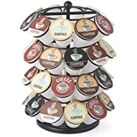 NIFTY 5640B 40 Capacity Carousel in Black. Smooth Spinning K-Cup Holder