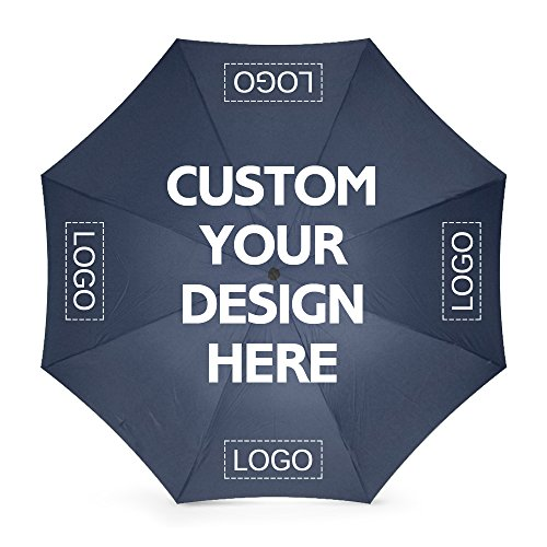 Custom Foldable Umbrellas Design Your Own Add Logo or Image Personalized Rainy/Sunny Windproof Diy Advertising Umbrella Gift