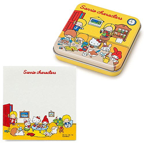 Sanrio Sanrio Characters canned memo '70s room From Japan New (70s Tv Characters)