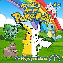 Aprende a Dibujar Pokemon: 40 Pokemon Para Dibujar Colorear + ...