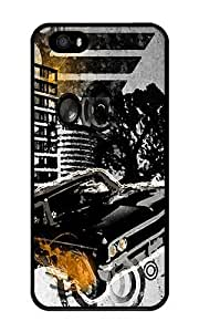 Custom City Life Crystal Clear Enamel Hard Back Cover Case for iPhone 4/4s by ruishername