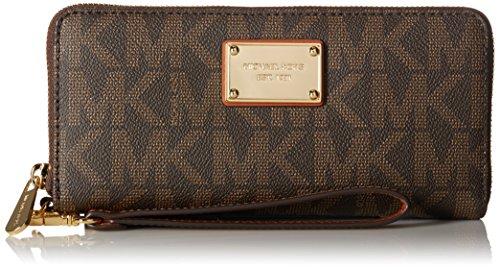 michael-kors-beige-black-gold-continental-wallet