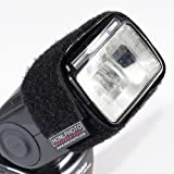 Honlphoto Speed Strap for Shoe Mount Flashes - for Gobos, Bounce Cards, Barndoors, Snoots, and More