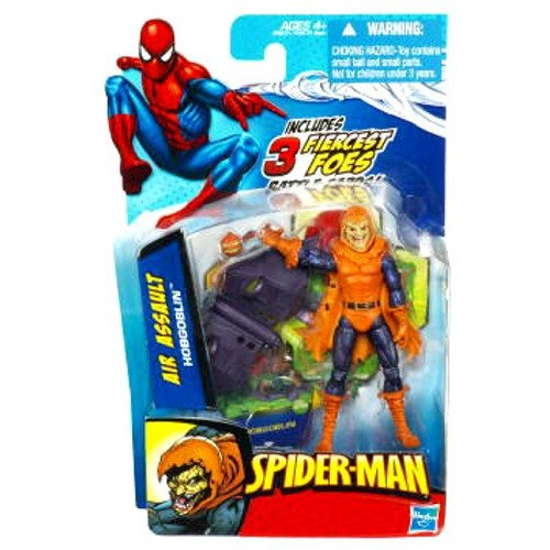 SpiderMan 2010 Series Three 3 3//4 Inch Action Figure Air Assault Hobgoblin