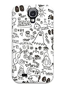 Sophia Cappelli's Shop 6765140K65293537 Cute Appearance Cover/tpu Doodle Art Case For Galaxy S4