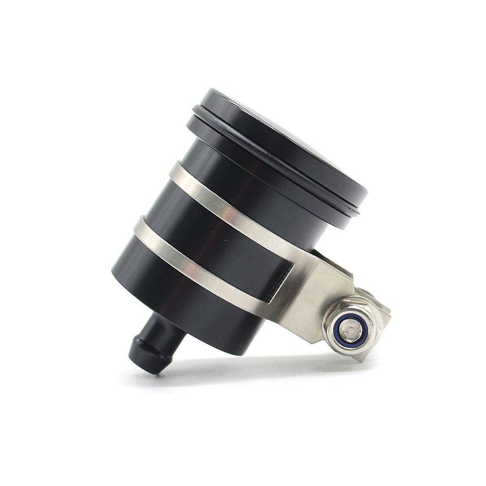 Gold Universal CNC Brake Fluid Reservior Cylinder for Z1000SX Z1000 Z900 Z800 Z750 Z750R Z650// CB400 CBR600RR CBR1000RR CB650F CB1000R// BN600 BN302 TNT300 TNT600// TMAX 530 XP 530 XP 500