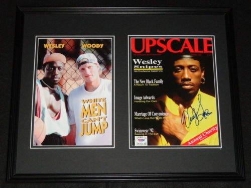 Wesley Snipes Signed Framed 16x20 Photo Display PSA/DNA White Men Can't Jump