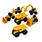 Best Caterpillar Toys For 4 Yr Olds - CAT Mini Machine Caterpillar Construction Truck Toy Cars Review