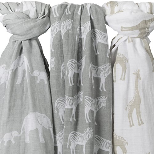 Organic Muslin Baby Swaddle Blankets product image