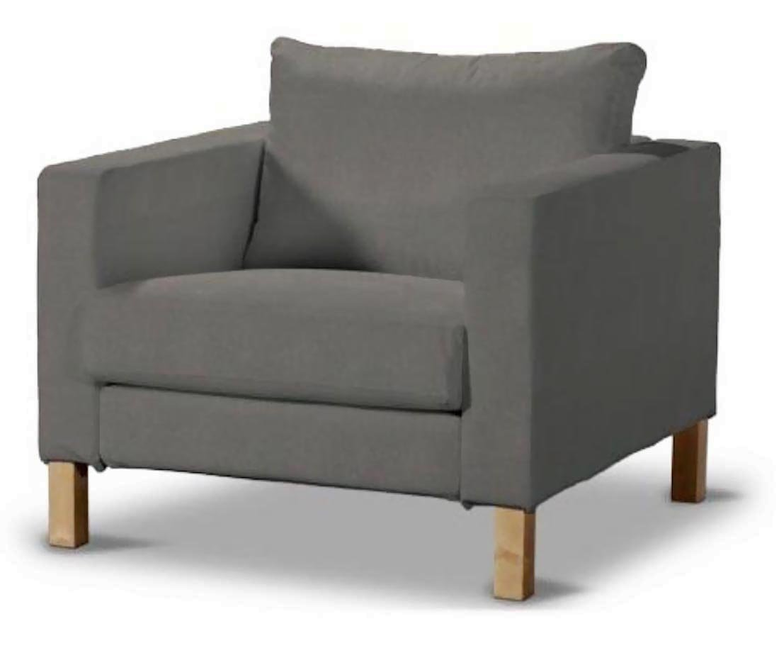Amazon.com The Durable Dense Cotton Karlstad Chair Cover Replacement Is Custom Made for Ikea Karlstad Armchair Sofa Slipcover (Cotton Dark Gray) Home u0026 ...  sc 1 st  Amazon.com & Amazon.com: The Durable Dense Cotton Karlstad Chair Cover ...