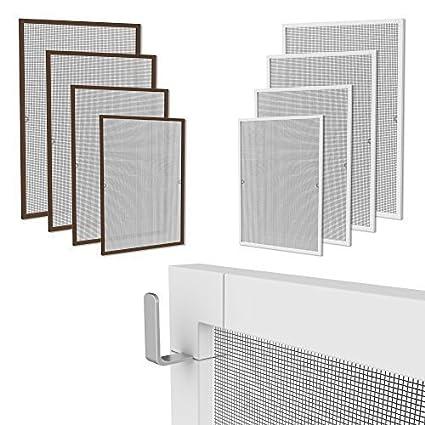 Extrem Klemmfix Fliegennetz Fenster Aluminium Rahmen Weiss Größe 80cm PL29
