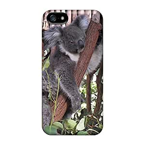 Iphone 5/5s TQGflWa3441HYoen Lone Pine Sanctuary Brisbane Australia Tpu Silicone Gel Case Cover. Fits Iphone 5/5s