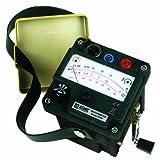 AEMC 6503 Hand-Cranked Megohmmeter, 5000 Megaohms Resistance, 1000V Test Voltage