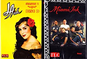 Miami Ink Hawaii , LA Ink Season 1 - 4 episodes : TLC INK 2 Pack Collection