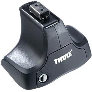 Thule 754002 Jeu de 4 Pieds Rapid System 754 pour Barre de Toit et pour la Voiture