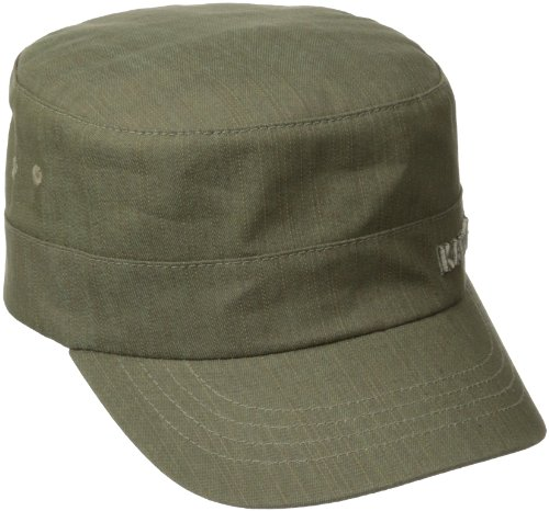 - Kangol Unisex-Adult's Denim Army Cap, Beige, L/XL