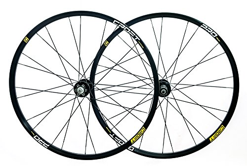 Croft Pro 29er/700c MTB Bike Disc Wheelset 24/24H QR Shimano/SRAM Compatible ()