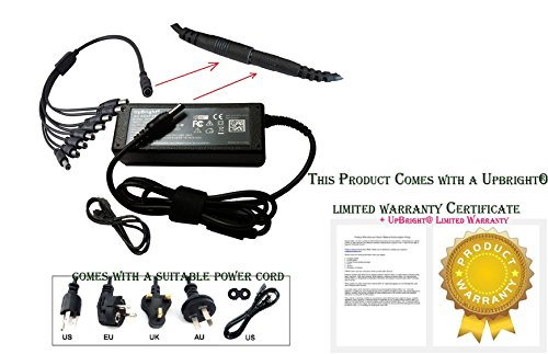CCTV Surveillance Power Adapter (12V 7A) + 1 to 8 Power Splitter for Security Cameras