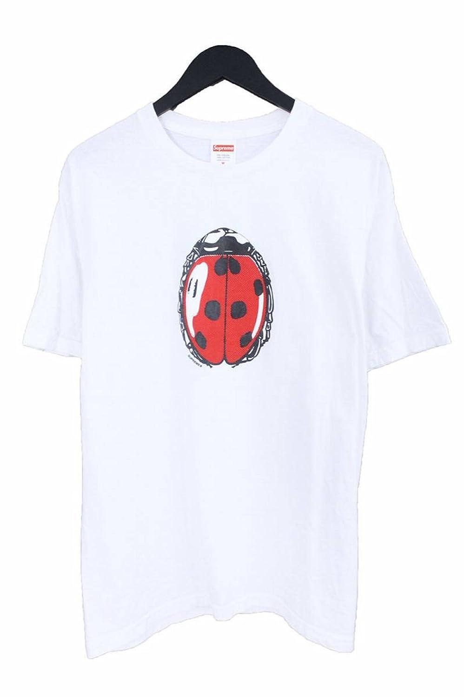 (シュプリーム) SUPREME 【18SS】【Ladybug Tee】テントウムシプリントTシャツ(M/ホワイト) 中古 B07FCF4529  -