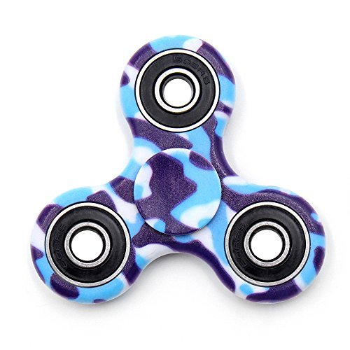 TOLOCO Spinner Fidget Toy Hand Spinner Camouflage,for ADHD EDC Hands Killing Time