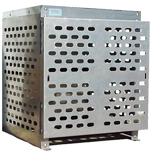 Propane Storage Cage (Forklift Tank Cage for Four Propane Cylinders.)