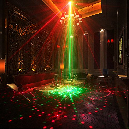 Laser Lights Led Projector 80 Patterns Rg Laser Dj Stage