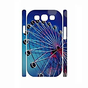 Design Ferris Wheel Photograph Rugged Plastic Protective Case for Samsung Galaxy S3 I9300 hjbrhga1544