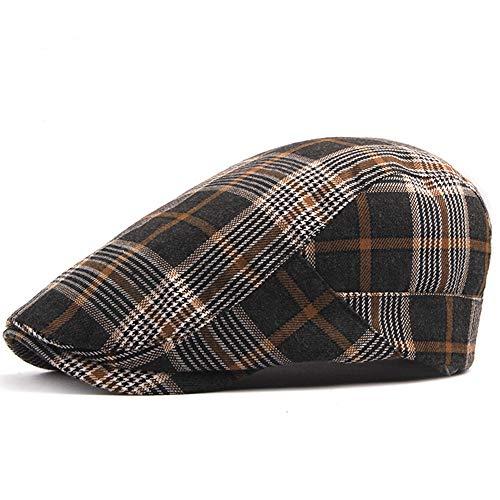 Men's Newsboy Gatsby Hat Vintage Beret Flat Ivy Cabbie Driving Hunting Cap for Boyfriend Gift