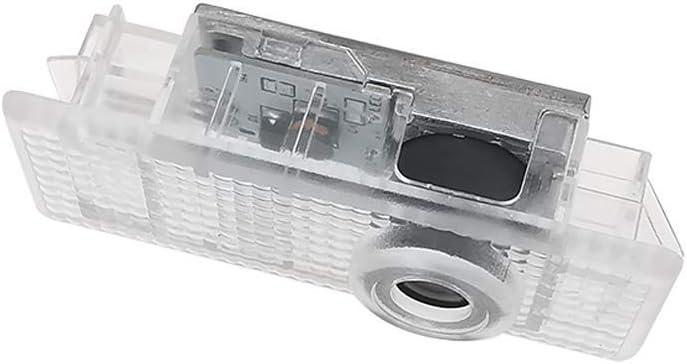 Nyfcc 2ST LED-T/ür-Emblem willkommenes Licht mit Auto-Logo Laser-Lampe for BMW F20 F30 F34 F32 G30 G11 F26 E70 F15 E71 F16 G01 E83 E84 E90 Size : 3M Logo