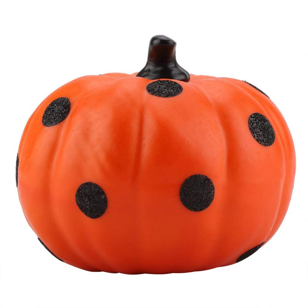 Orange Halloween Pumpkin Decor Puntelli di Festa in Costume di Autumn Harvest Festival Desktop Zucca Decorativa Modello Puntini PVC