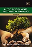 img - for Recent Developments in Ecological Economics (2 volume Set) book / textbook / text book