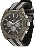 [Wiuddo] WEWOOD watch cotton fiber PHOENIX CHRONO TEAK BK Chronograph 9818141 Men's [regular imported goods]